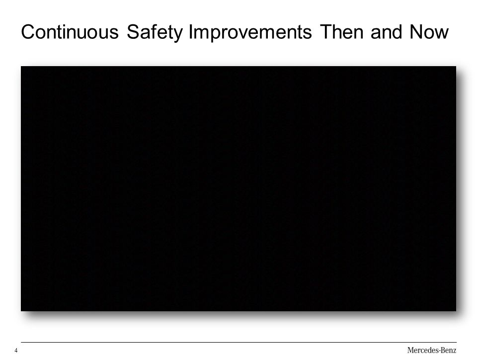 Continuous Safety Improvements Then and Now
