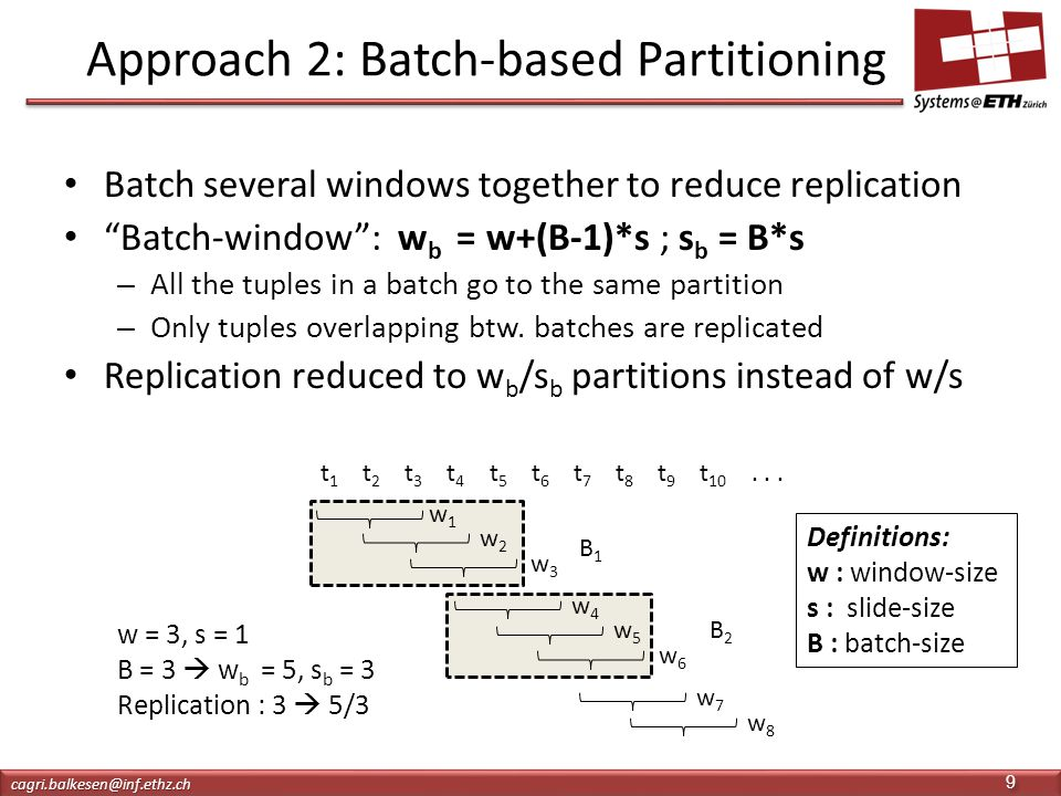 Approach 2: Batch-based Partitioning