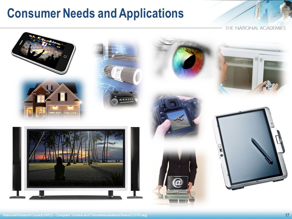 Consumer Needs and Applications