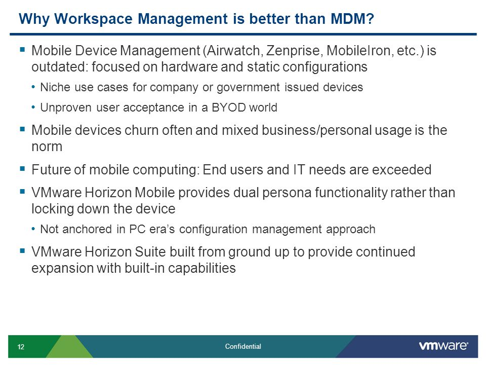 Why Workspace Management is better than MDM