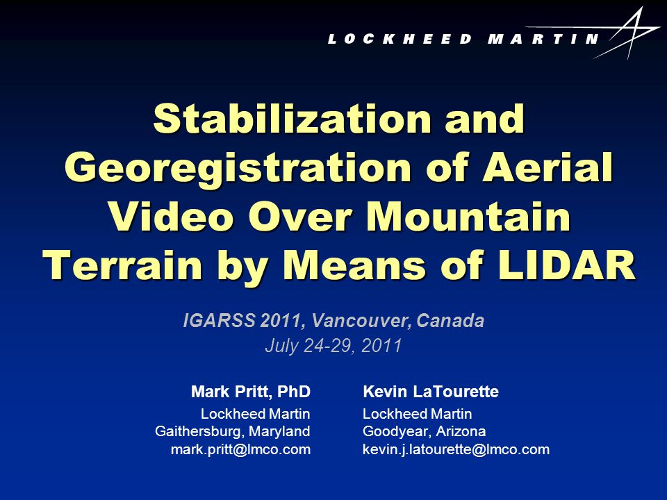 IGARSS 2011, Vancouver, Canada