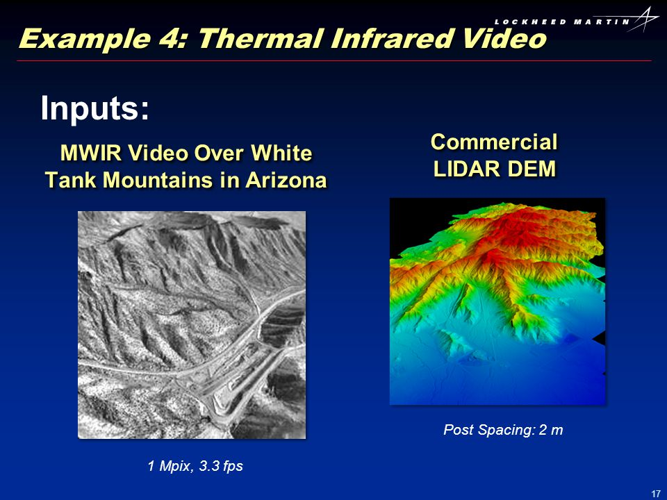 Example 4: Thermal Infrared Video