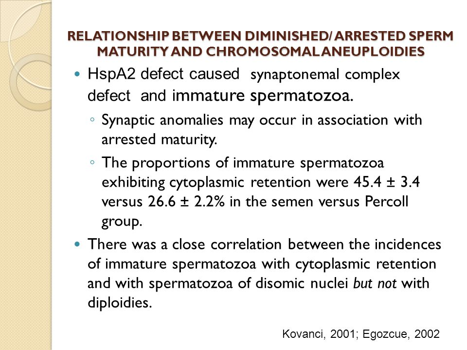 Synaptic anomalies may occur in association with arrested maturity.