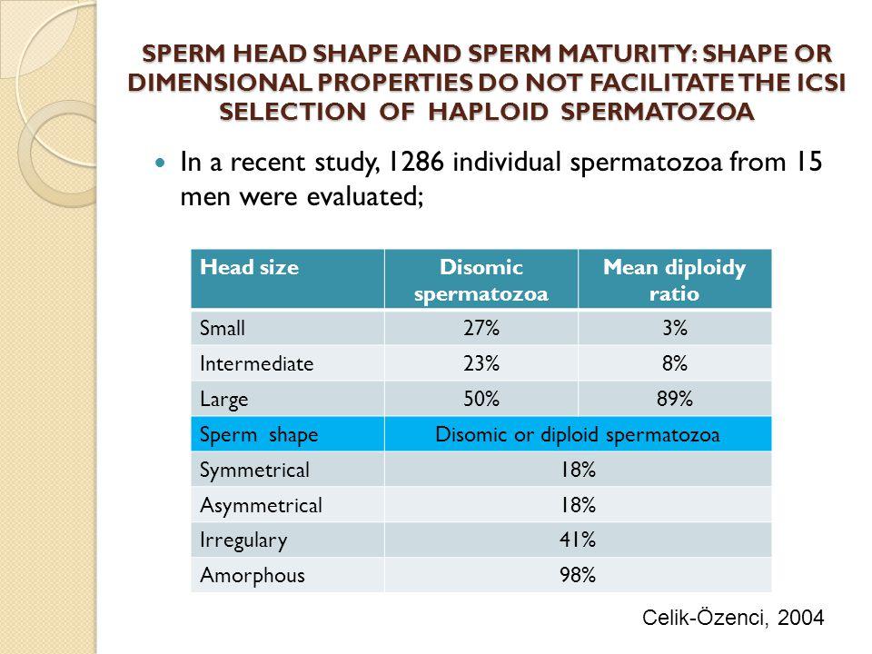 Disomic or diploid spermatozoa