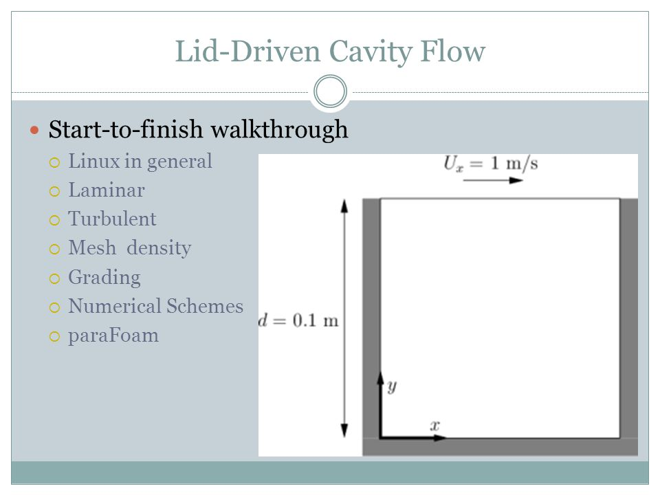Lid-Driven Cavity Flow