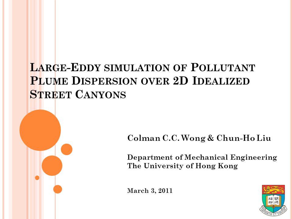 Colman C.C. Wong & Chun-Ho Liu