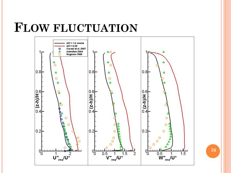 Flow fluctuation