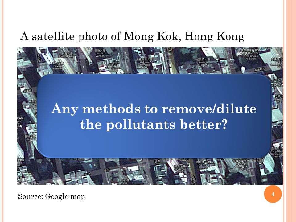 Any methods to remove/dilute the pollutants better