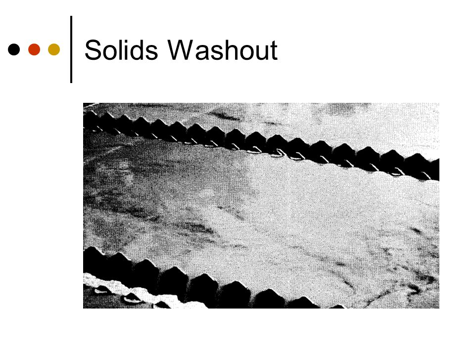 Solids Washout