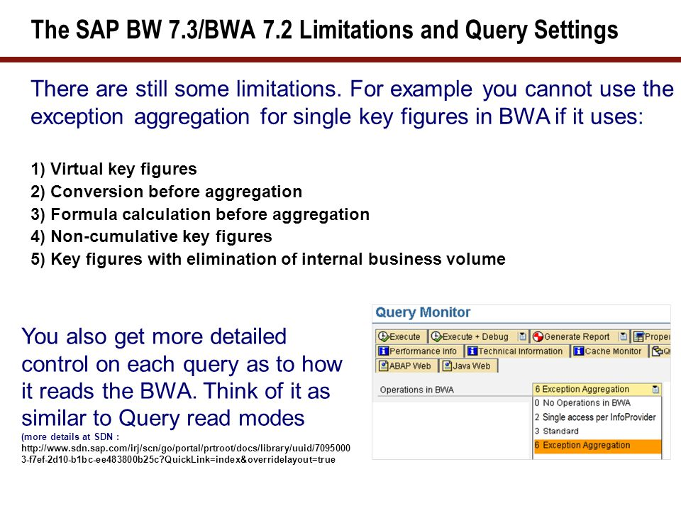 What We'll Cover … SAP BW 7.3 Overview