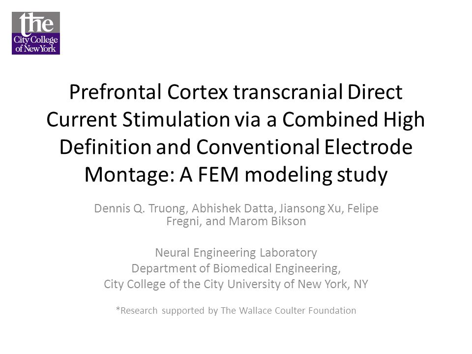 Prefrontal Cortex transcranial Direct Current Stimulation via a Combined High Definition and Conventional Electrode Montage: A FEM modeling study