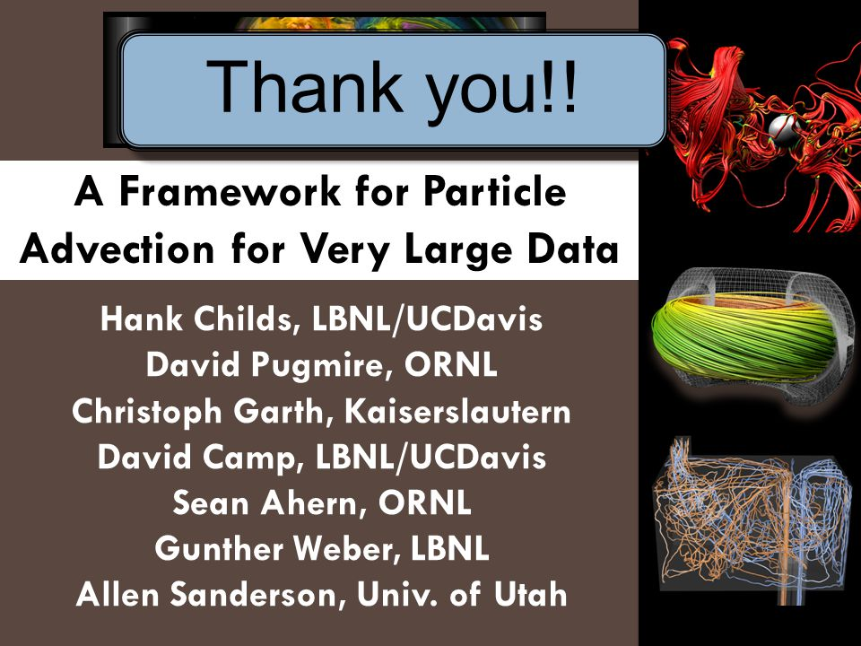A Framework for Particle Advection for Very Large Data