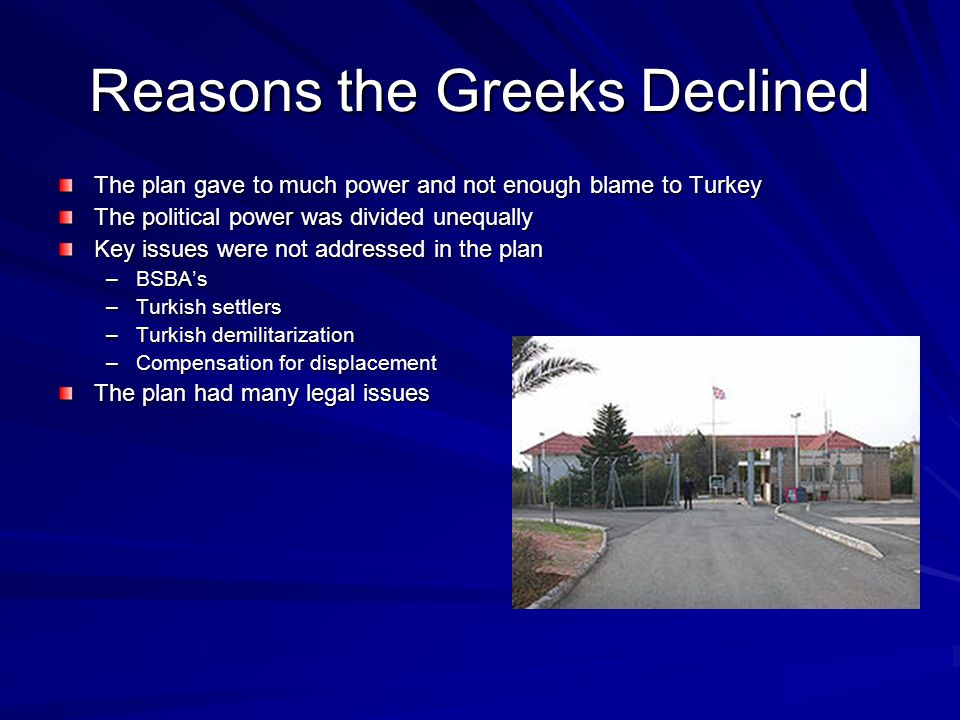 Reasons the Greeks Declined