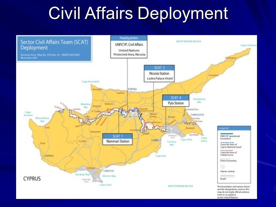 Civil Affairs Deployment