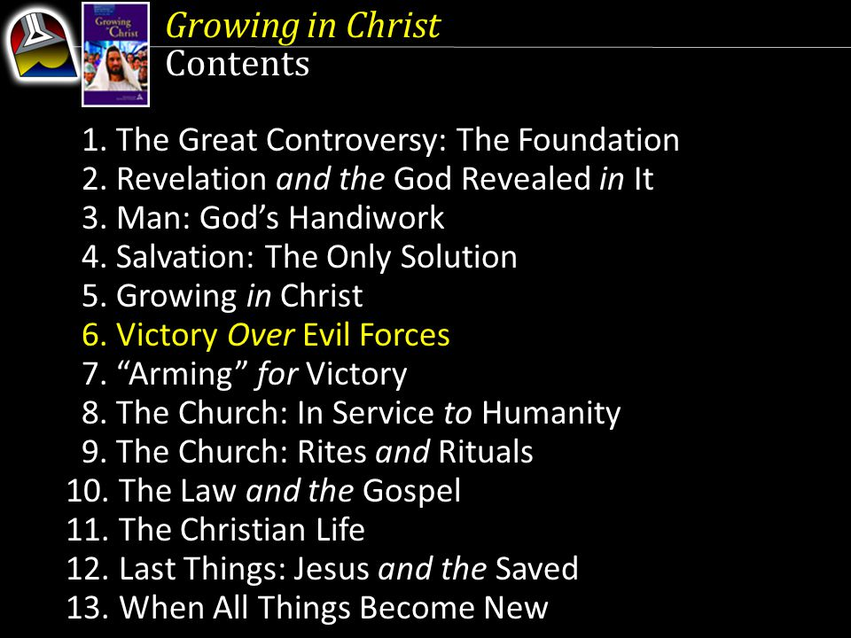 Growing in Christ Contents 2. Revelation and the God Revealed in It