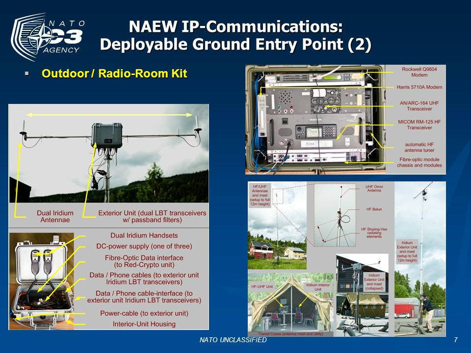 NAEW IP-Communications: Deployable Ground Entry Point (2)