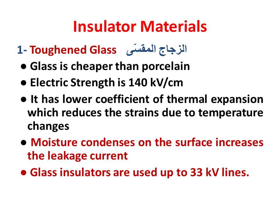 Insulator Materials