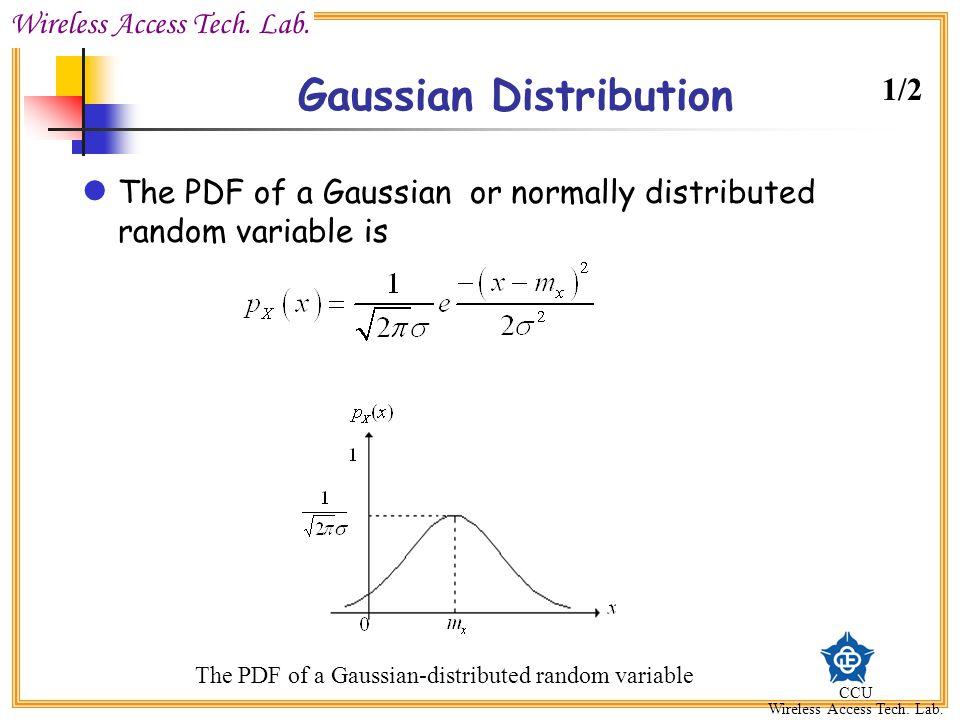 Gaussian Distribution