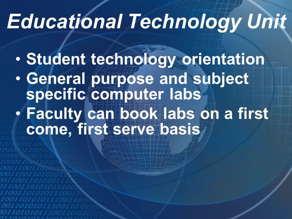 Educational Technology Unit