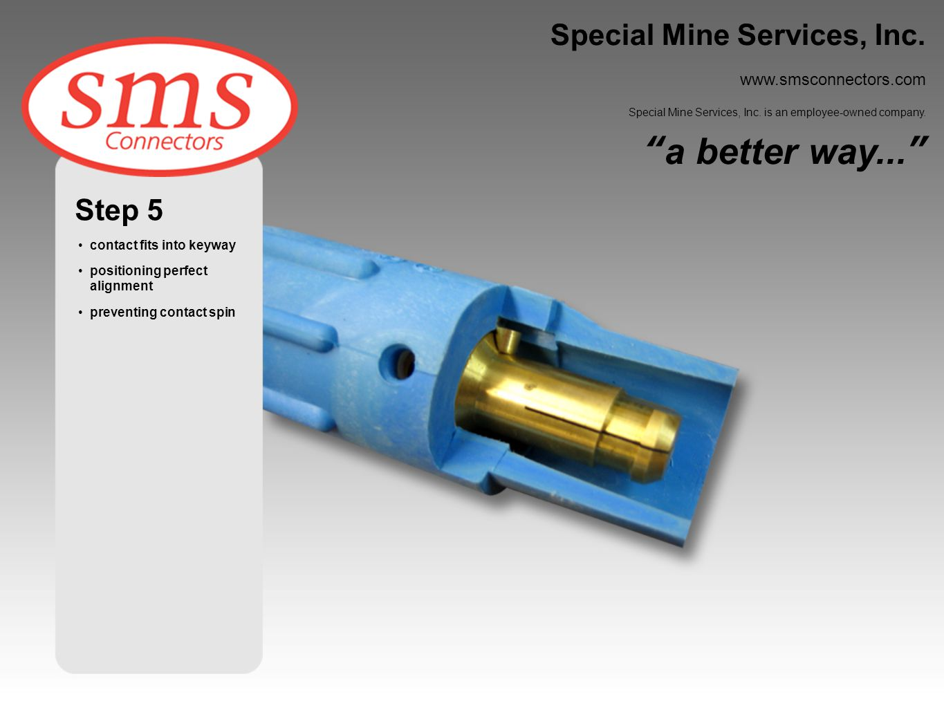 a better way... Special Mine Services, Inc. Step 5