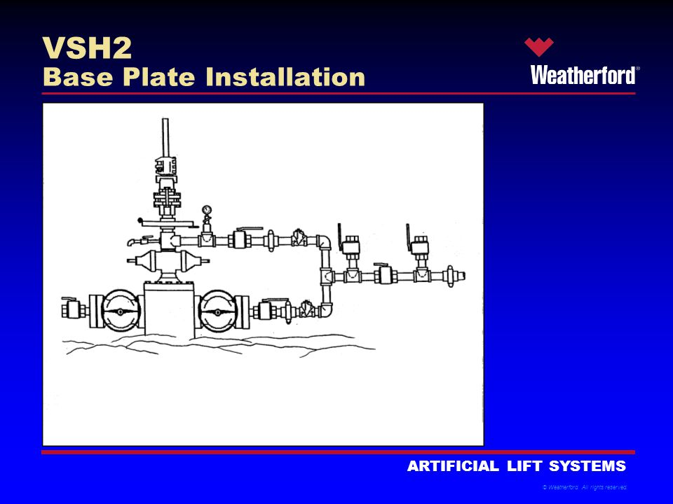 VSH2 Base Plate Installation