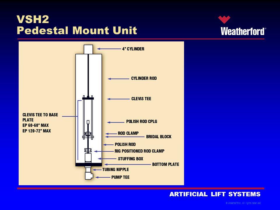 VSH2 Pedestal Mount Unit