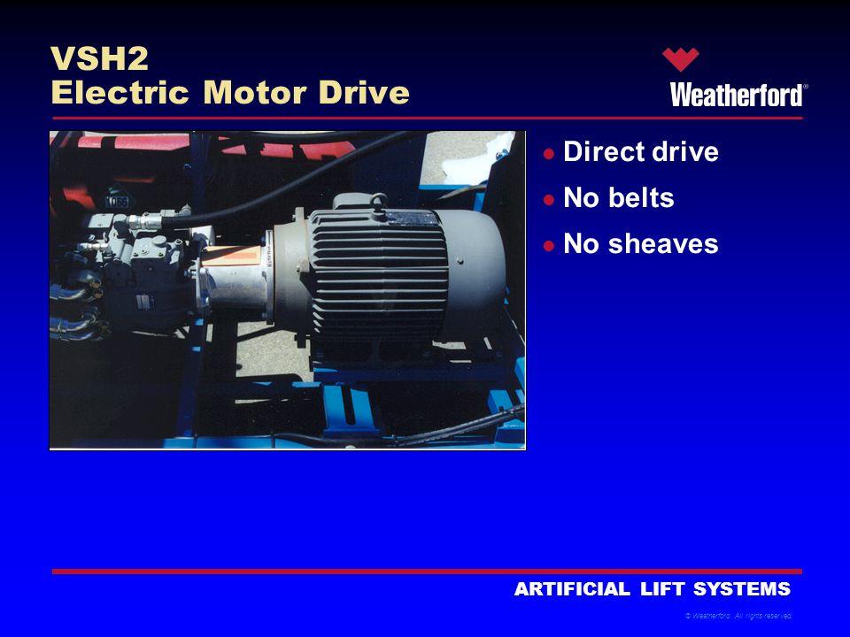 VSH2 Electric Motor Drive