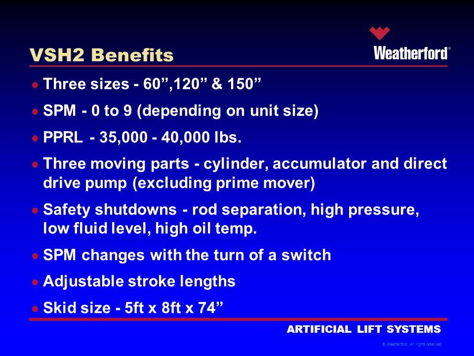 VSH2 Benefits Three sizes - 60 ,120 & 150