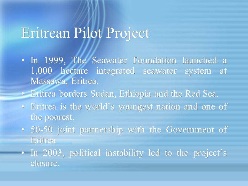 Eritrean Pilot Project