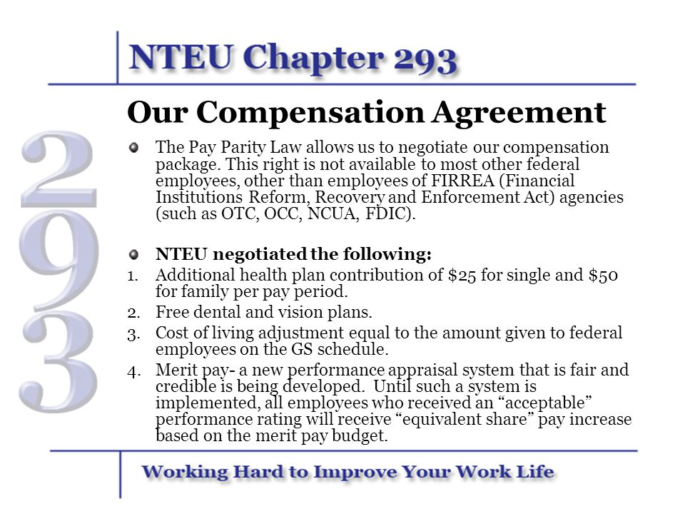 Our Compensation Agreement