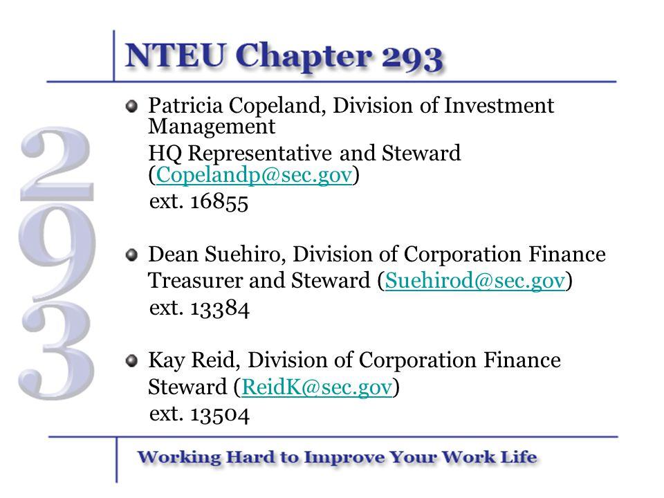 Patricia Copeland, Division of Investment Management
