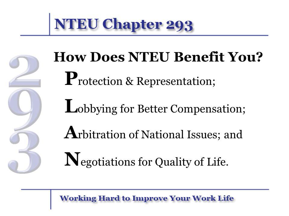 How Does NTEU Benefit You
