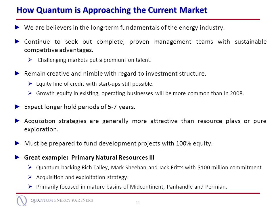 How Quantum is Approaching the Current Market