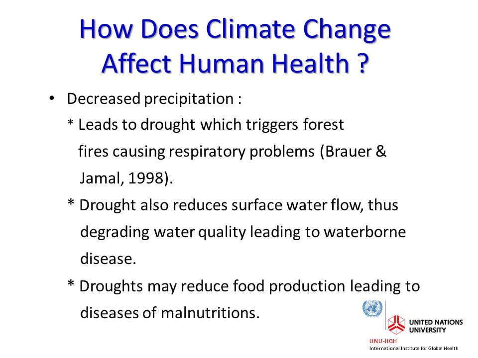 how do environmental changes affect a How does drought affect our lives environmental impacts drought also affects the environment in many different ways and changes in lifestyle.