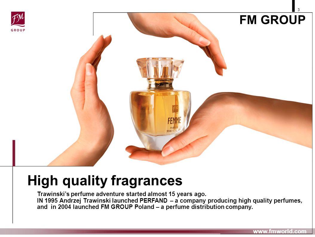 High quality fragrances