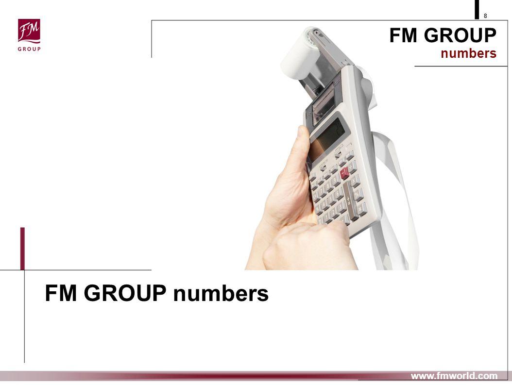 FM GROUP numbers FM GROUP numbers prezentujemy www.fmworld.com