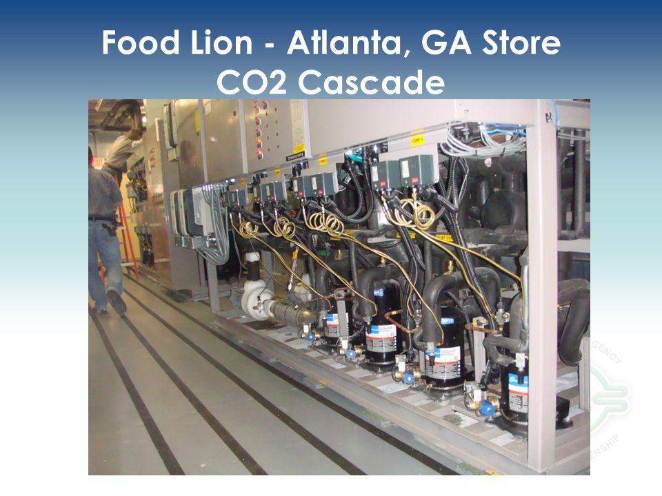 Food Lion - Atlanta, GA Store CO2 Cascade