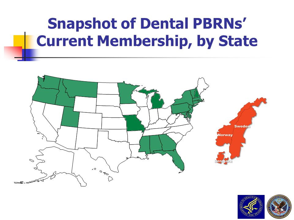 Snapshot of Dental PBRNs' Current Membership, by State