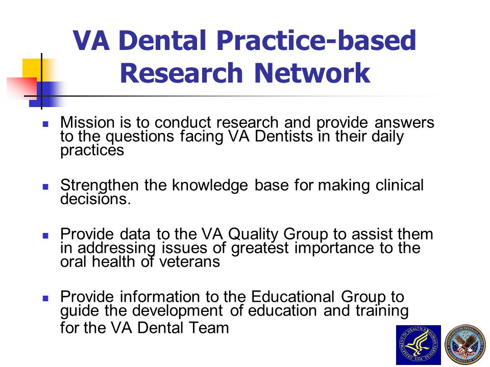 VA Dental Practice-based