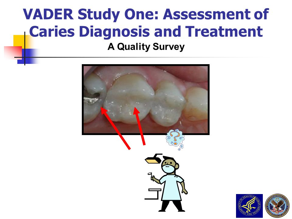 VADER Study One: Assessment of Caries Diagnosis and Treatment