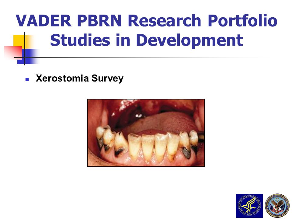 VADER PBRN Research Portfolio Studies in Development
