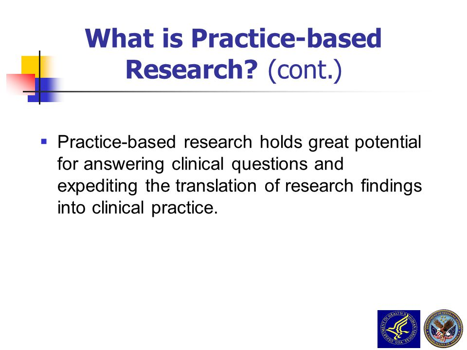 What is Practice-based