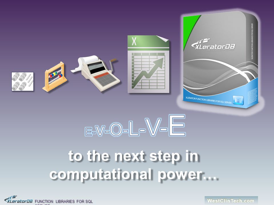 to the next step in computational power…