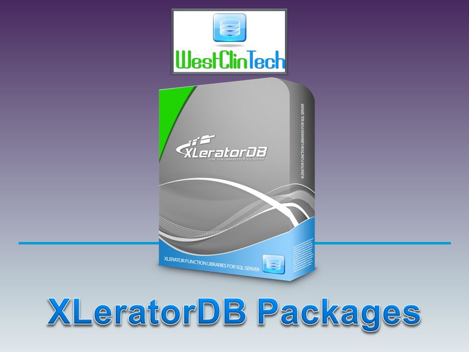 XLeratorDB Packages