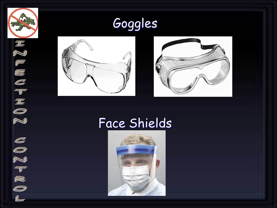 Goggles Face Shields