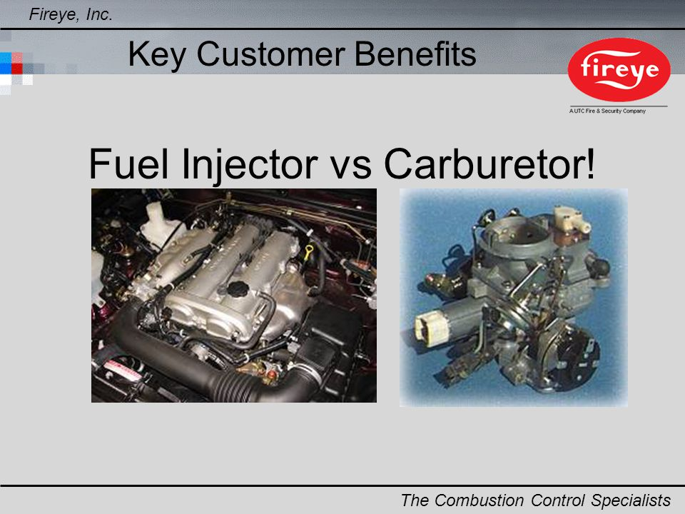 Fuel Injector vs Carburetor!