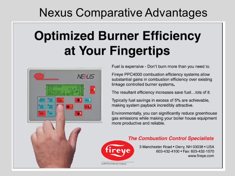 Nexus Comparative Advantages
