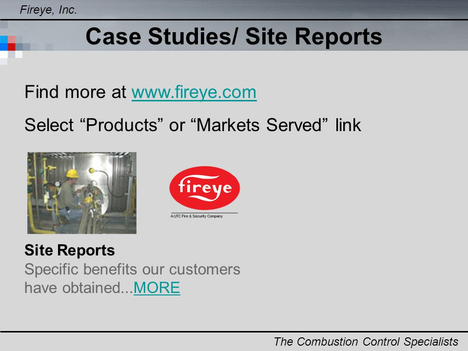 Case Studies/ Site Reports