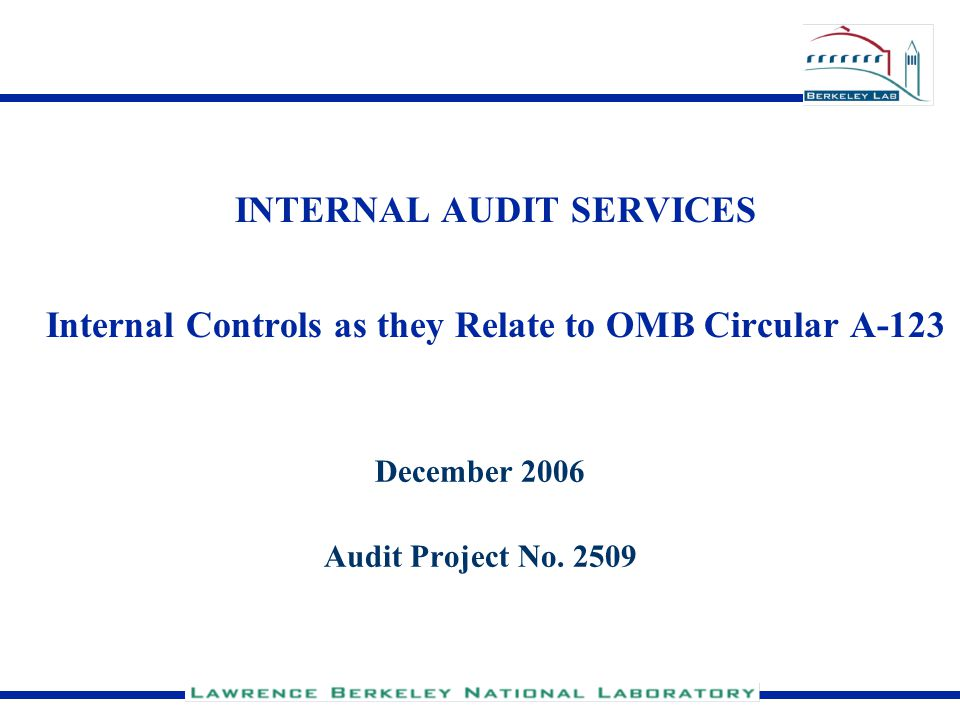 December 2006 Audit Project No. 2509