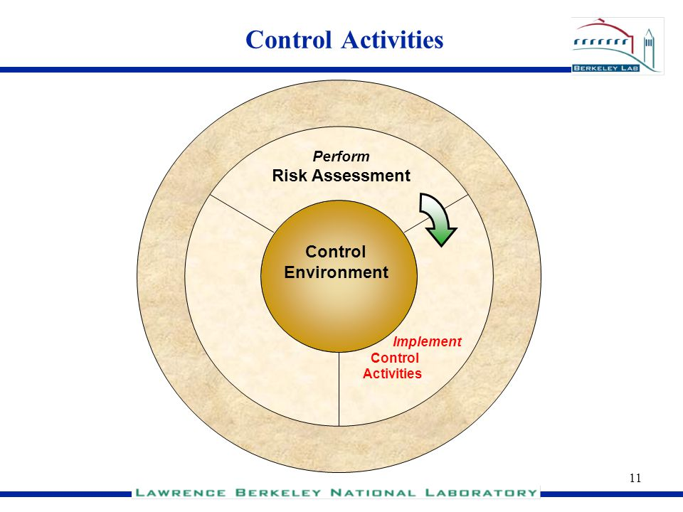 Control Activities Risk Assessment Control Environment Perform